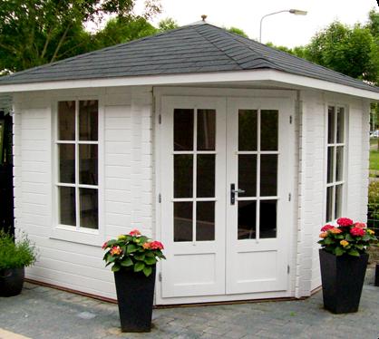 Neu eck Gartenhaus 28 mm NWH Leonie 28029 WG75
