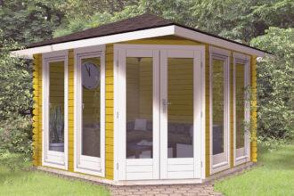 5 eck gartenhaus pavillon kaufen naturholz gartenhaus. Black Bedroom Furniture Sets. Home Design Ideas