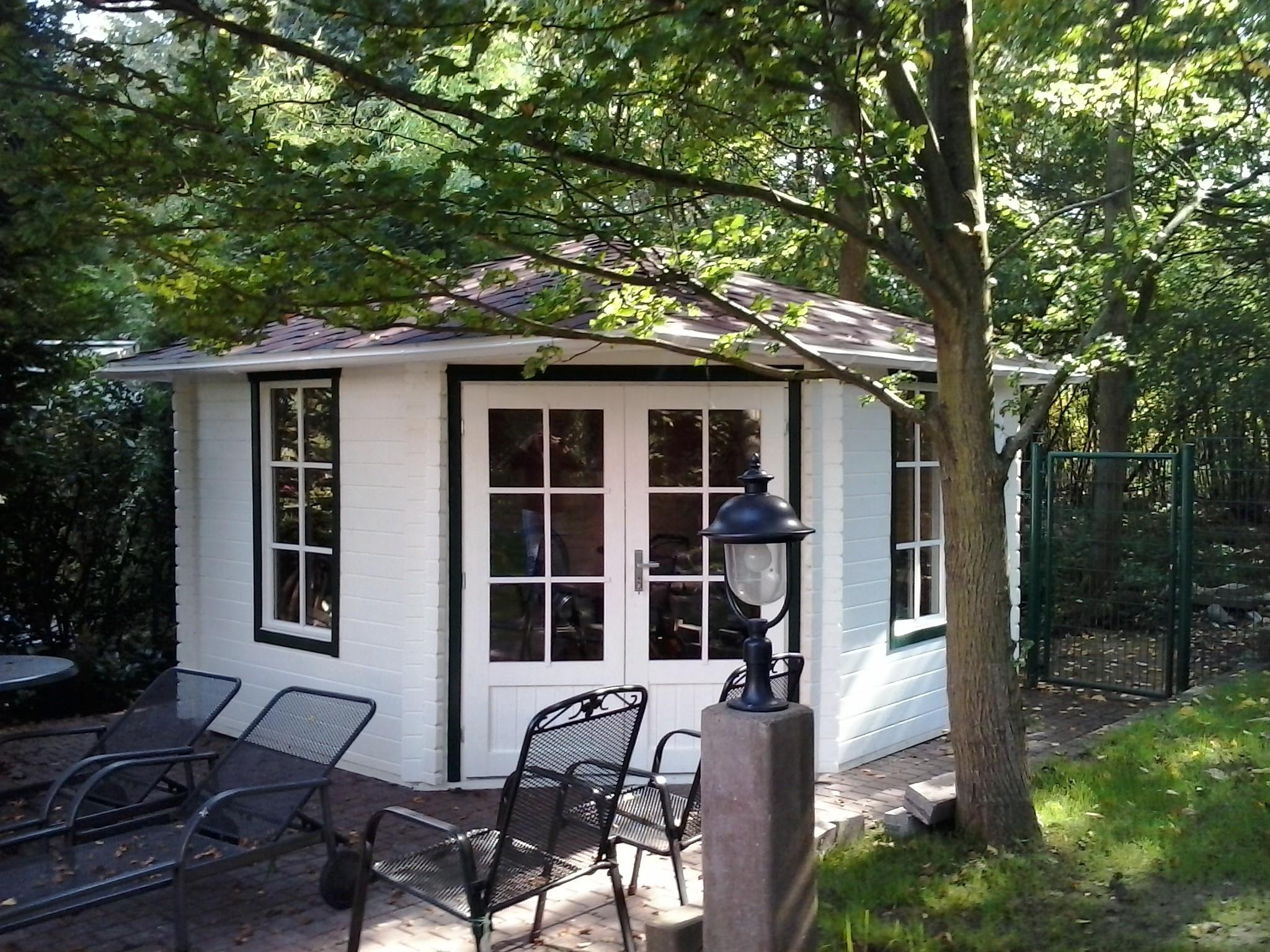 5 eck gartenhaus 40 mm nwh kleve 40020 naturholz gartenhaus. Black Bedroom Furniture Sets. Home Design Ideas