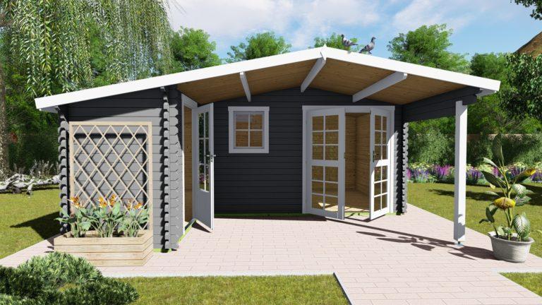 Gartenhaus 40 mm NWH Birmingham 40005-6