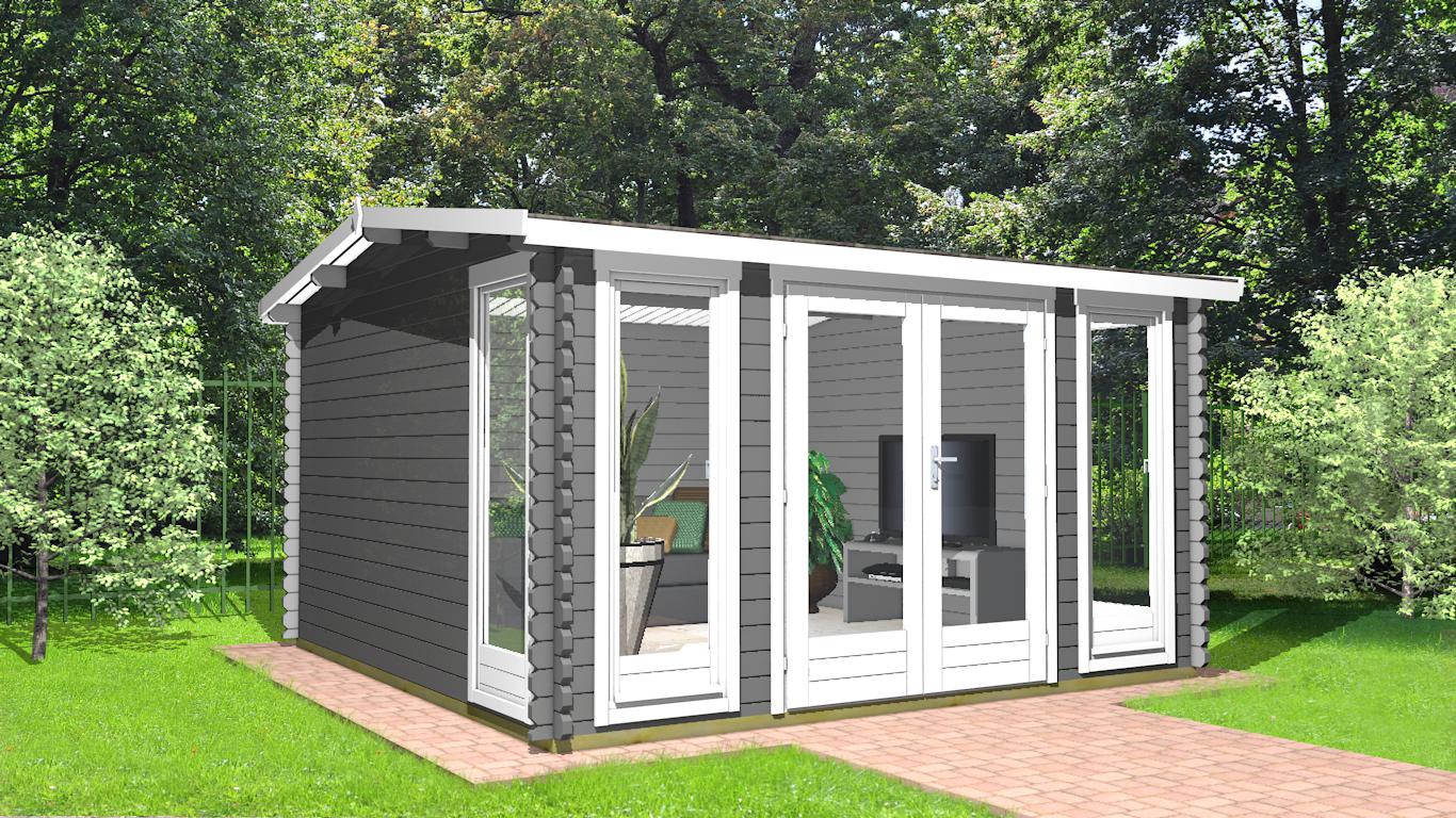 Gartenhaus 40 mm NWH Werne 40038