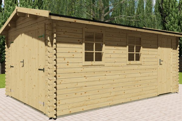 Holzgarage 28 mm NWH Aurich 28040
