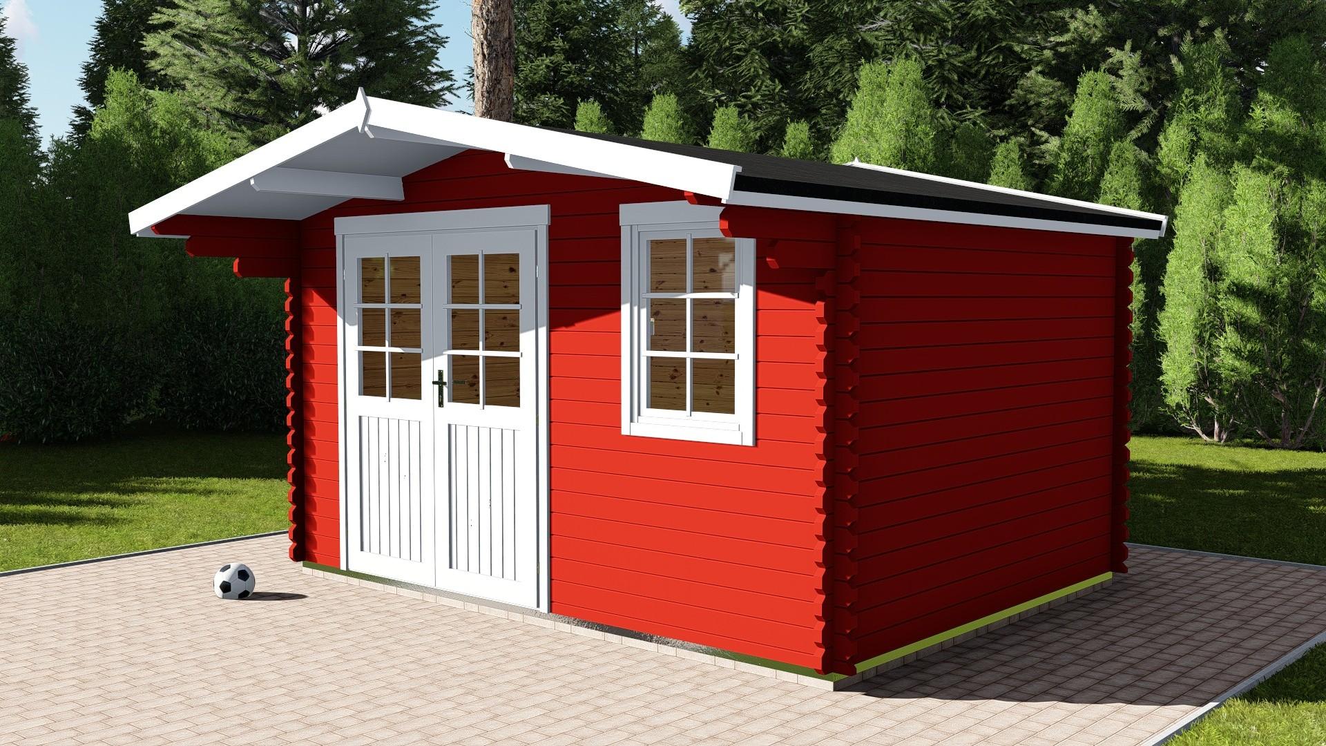 Gartenhaus 40 mm NWH Essen 40017
